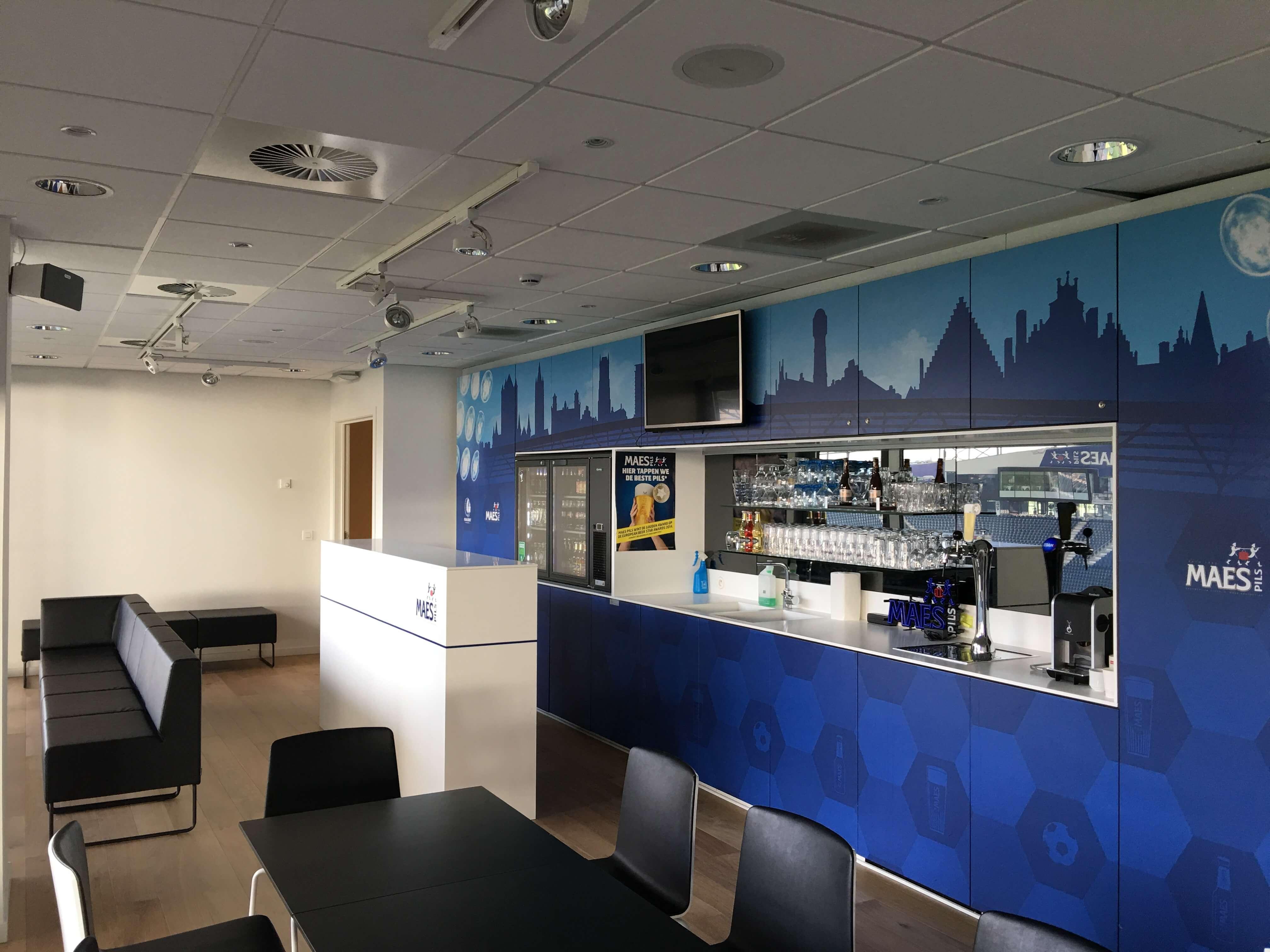Business Lounge – Ghelamco Arena te Gent helper